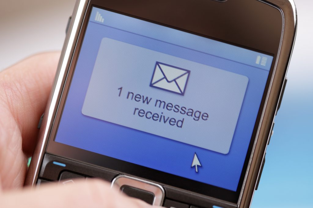 automated text message